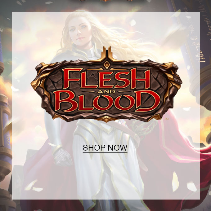 Flesh and Blood trading card game. Shop now